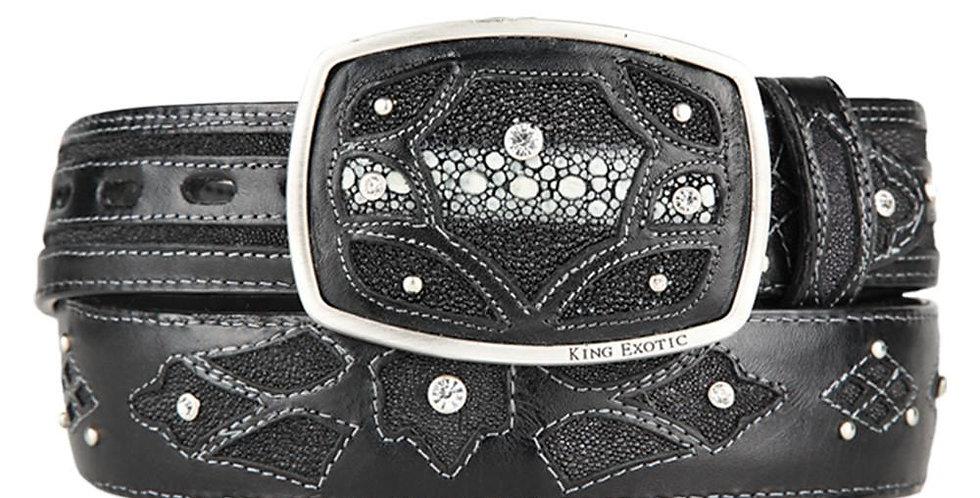 Men's Western Fashion Stingray Belt