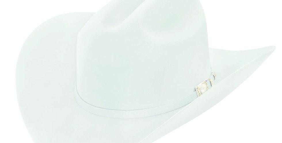 RRango Hats 100X El Jefe -  White Beaver Felt Hat