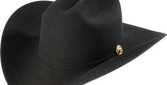 5x Larry Mahan Norte Fur Felt Cowboy Hat Black
