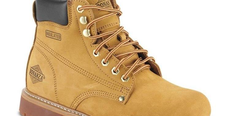 """Bonanza 6"""" Men's Plain Toe Work Boots"""