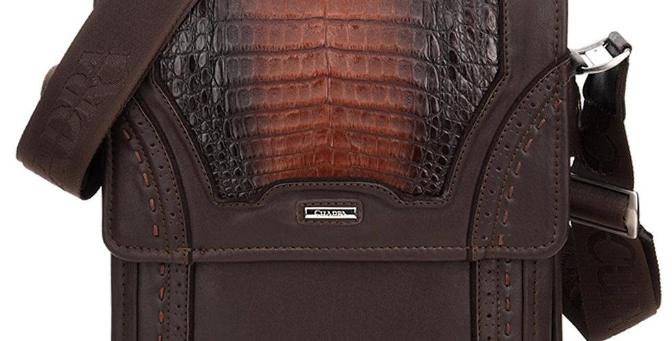 Cuadra Extasis Caiman Belly Messenger Bag