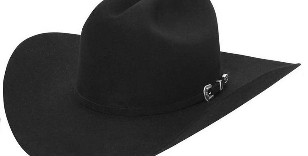 Stetson 6X Skyline Cowboy Felt Hat - Black