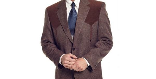 Circle S Men's Apparel - Heather Boise Sportcoat - Chestnut