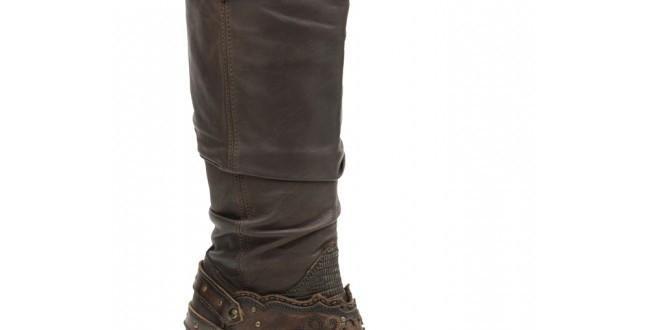 Cuadra Women's Lizard Rustic Finish Boot