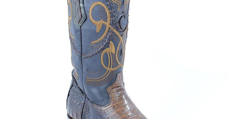 Cuadra Men's Caiman Belly Cowboy Boots - Extasis