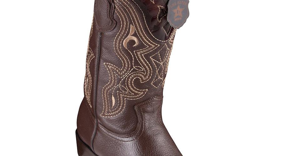 King Exotic Men's Elk Cowboy Boots - H79 Dubai Toe