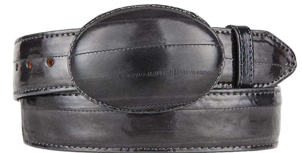 Grey Eel Cowboy Belt