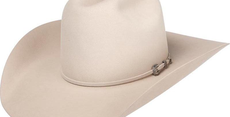 """American 200X Silver Belly 4-1/4"""" Brim Felt Cowboy Hat"""