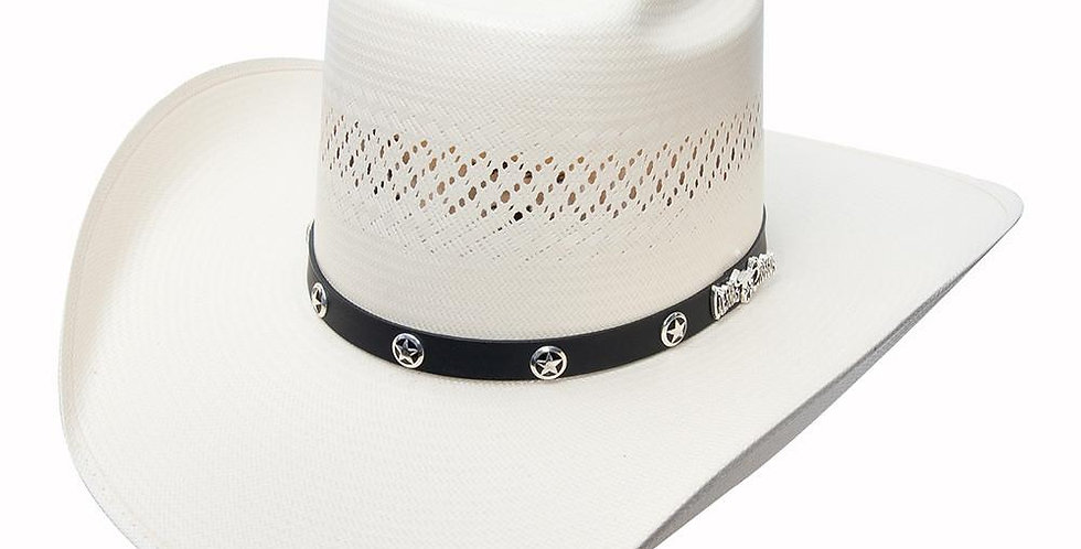 Cuernos Chuecos Brick Crown Vented Cowboy Hat