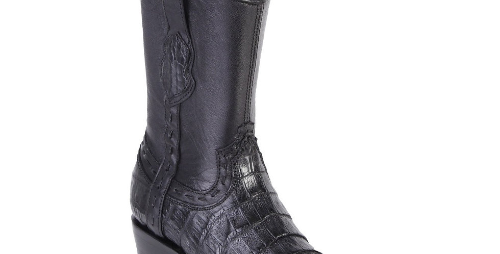 King Exotic Men's Dubai Toe Caiman Belly Boots