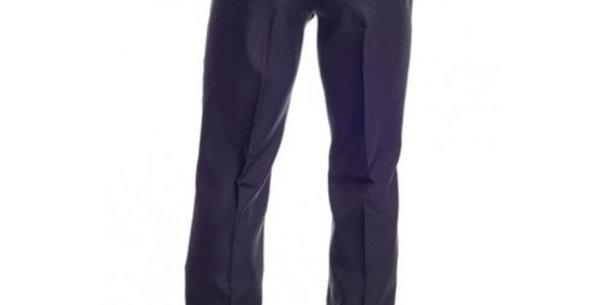 Circle S Men's Apparel - Solid Polyester Dress Ranch Pant - Black