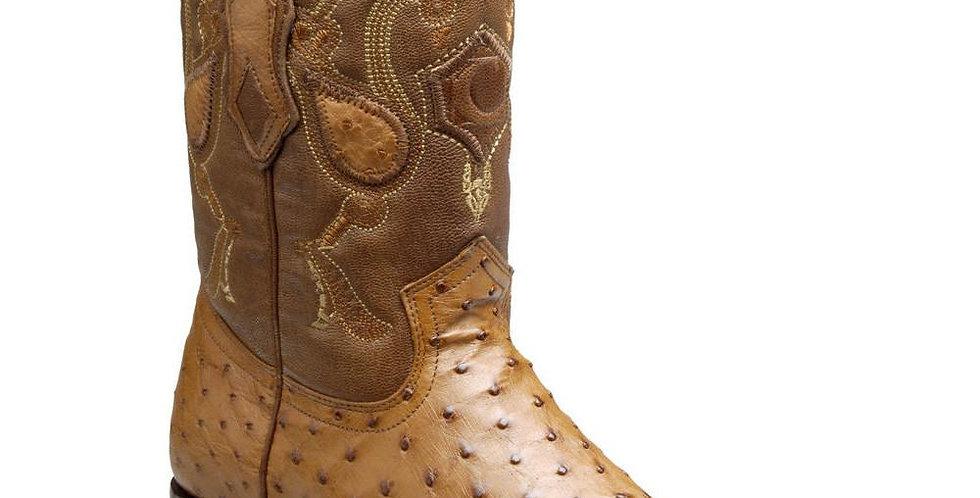 Cuadra Men's Roper Ostrich Boots