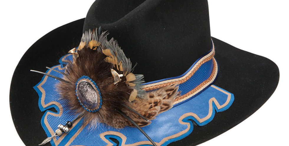 Charlie 1 Horse Richard Petty Petty Blue - (10X) Fur Cowboy Hat