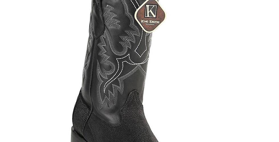 King Exotic Men's Stingray Square Toe Boot