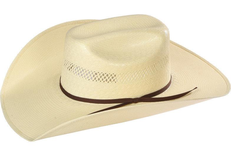 Resistol Men's Rock Creek Promo Straw Cowboy Hat