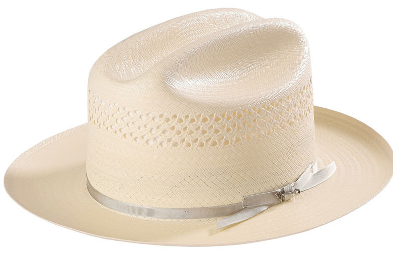 Stetson Men's Natural Open Road 4 Straw Hat
