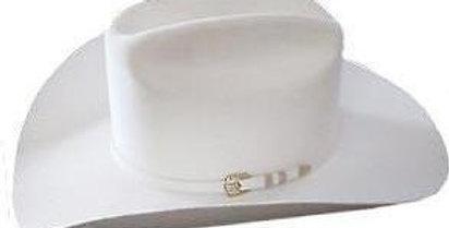 1000X Stetson Diamante Hat Made With Premium Chinchilla/Beaver - White
