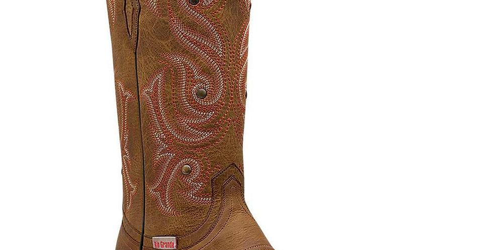 Rio Grande Women's Crazy Horse Miel Square Toe Boot