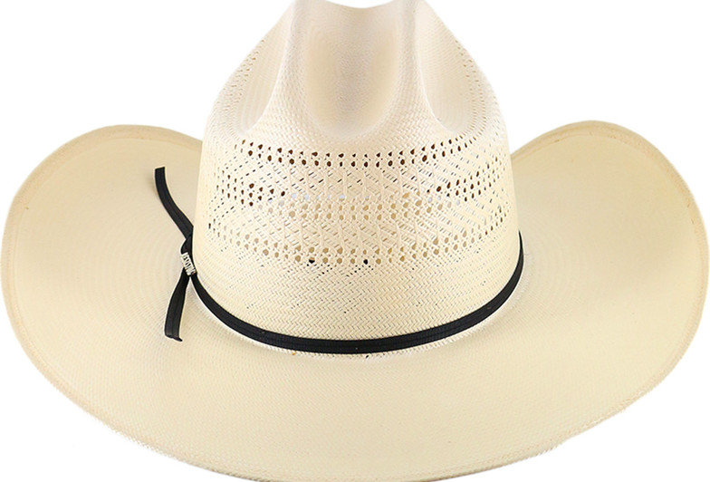 Resistol 20X Chase Straw Cowboy Hat