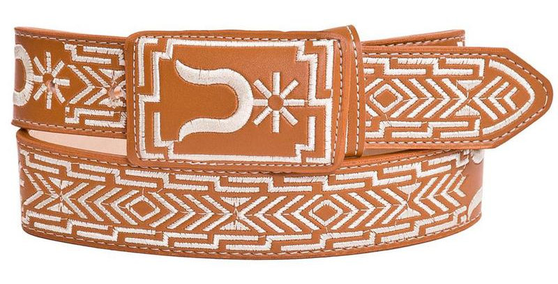 EMBROIDERED COWBOY BELT IMP-13134
