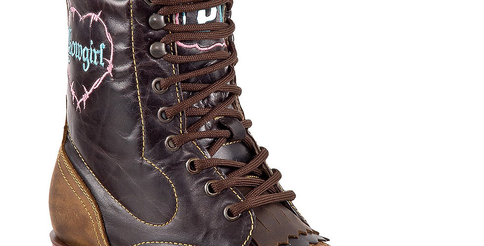 Quincy Women's Square Toe Lacer Boots