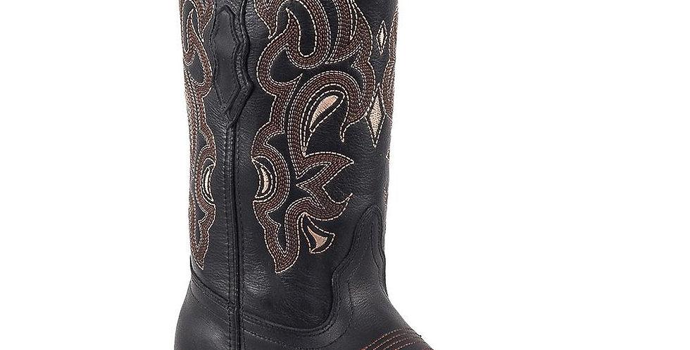 Quincy Women's Black Square Toe Boots