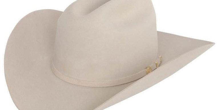 100x El Presidente Stetson Hat - Silver Belly