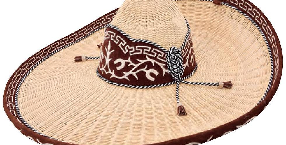Sombrero Charro De Mimbre - Herradura