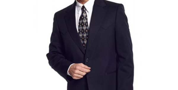 Circle S Men's Apparel - Abilene Sportcoat - Black