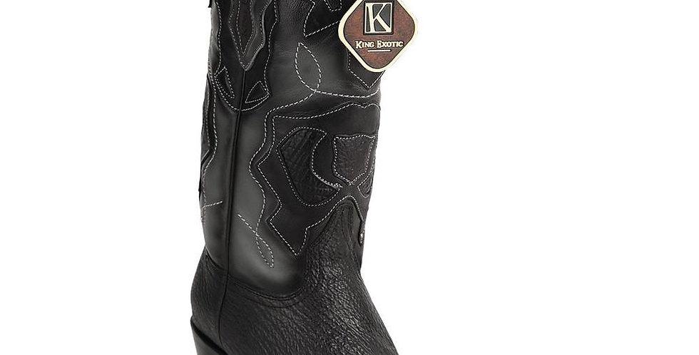King Exotic Men's Shark Snip Toe Western Boots