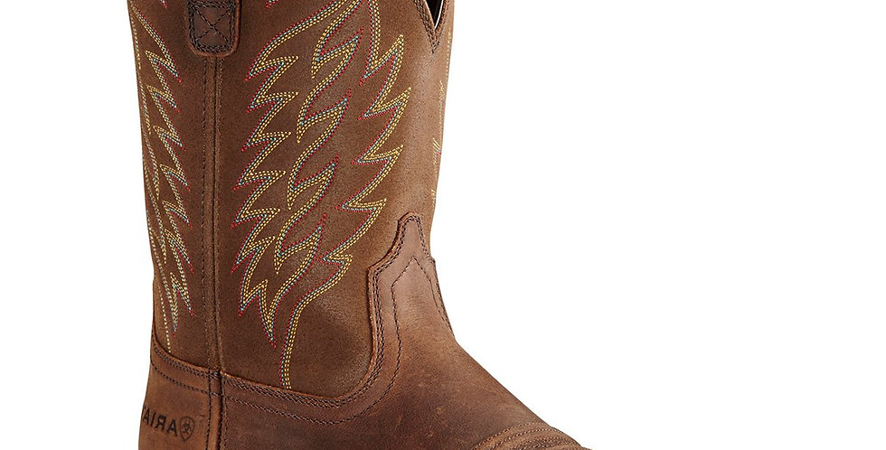 Ariat Mens Groundbreaker Square Toe Work Boots