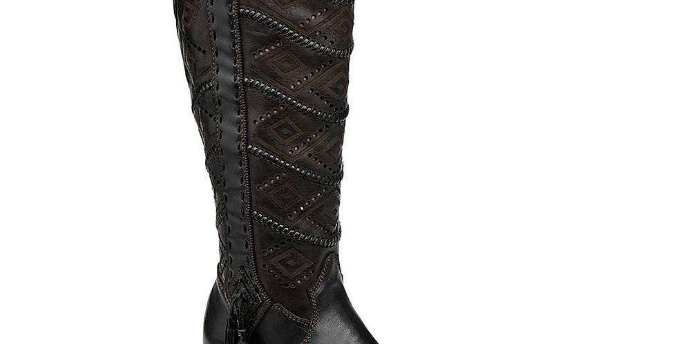 Cuadra Ladies Tall Boot Black 2F18VL