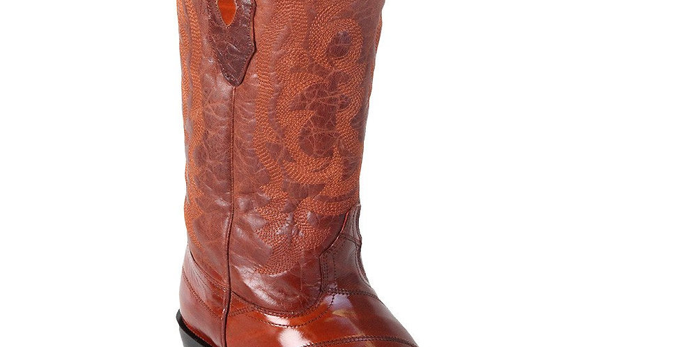 Los Altos Eel Cowboy Boots J-Toe