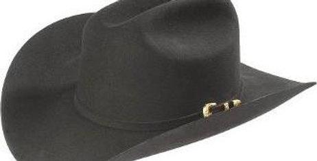 4x Larry Mahan El Dorado Fur Felt Hat Black