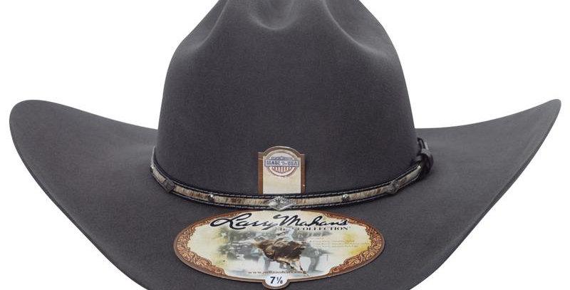 5x Larry Mahan Brindle Fur Felt Cowboy Hat Granite