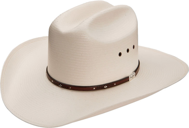 George Strait by Resistol Palo Duro T 8X Straw Cowboy Hat