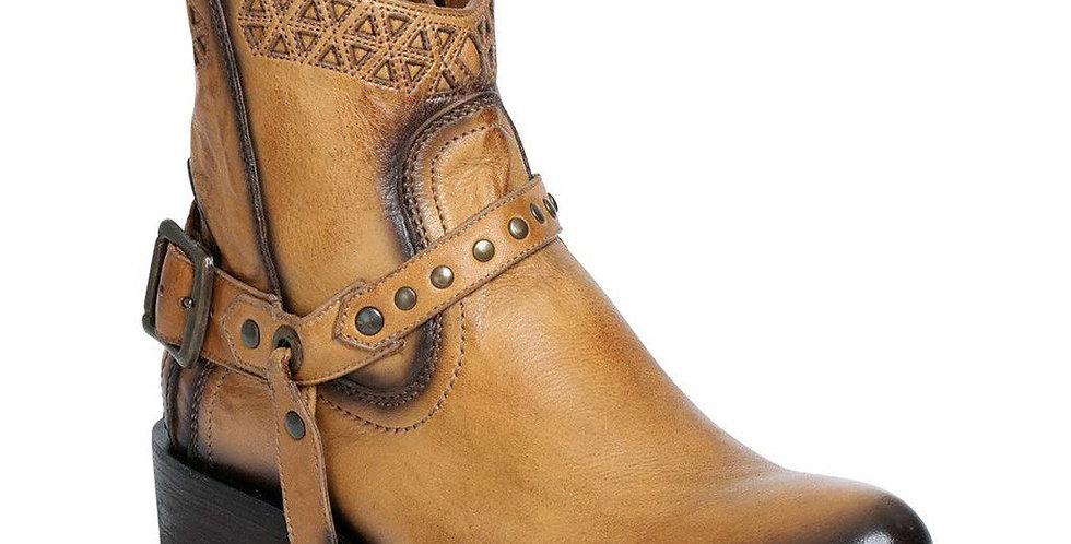 Rio Grande Ladies Short Liga Camel Boots