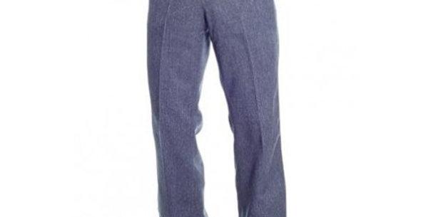 Circle S Men's Apparel - Heather Dress Ranch Pant - Navy