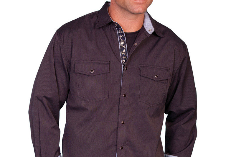 Scully Signature Western Shirt