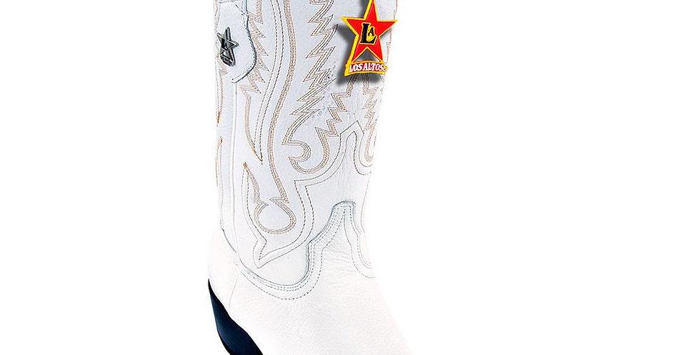 Los Altos Pointed Toe Deer Cowboy Boots