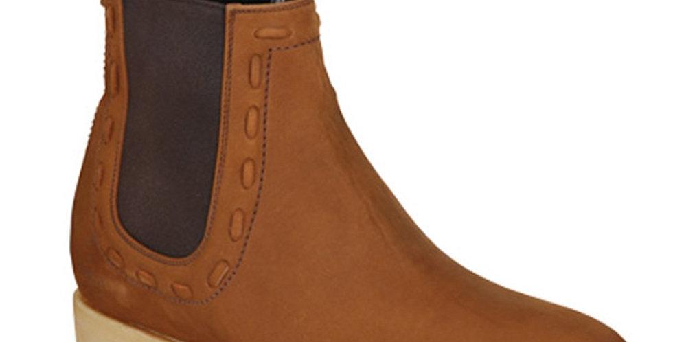 El Canelo Suede Charro Work Boot