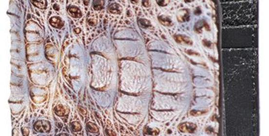 Cartera Caiman Lomo Natural CA10249