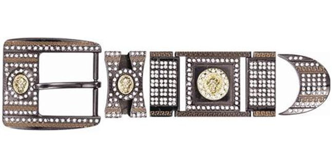 BLACK CHROME HARDWARE WITH DIAMONDS BK909628