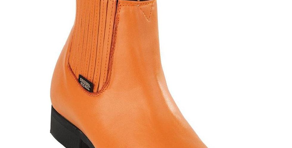 Original Michel Honey Charro Work Ankle Boot
