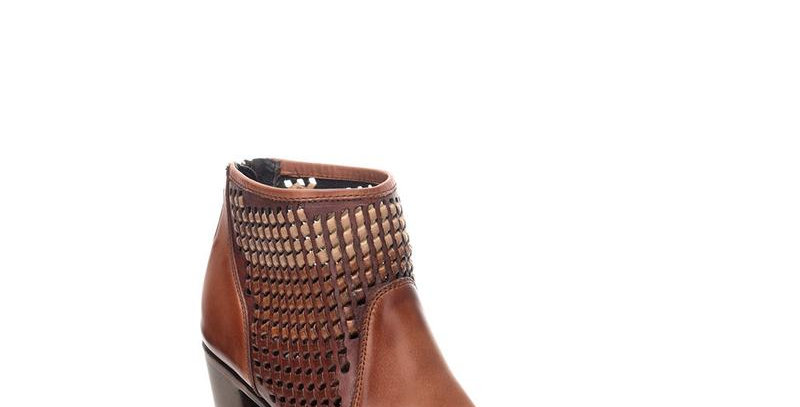Women's Cuadra Brown Bovine Leather Boots Handcrafted
