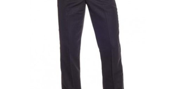 Circle S Men's Apparel - Poly Wool Dress Ranch Pant - Black
