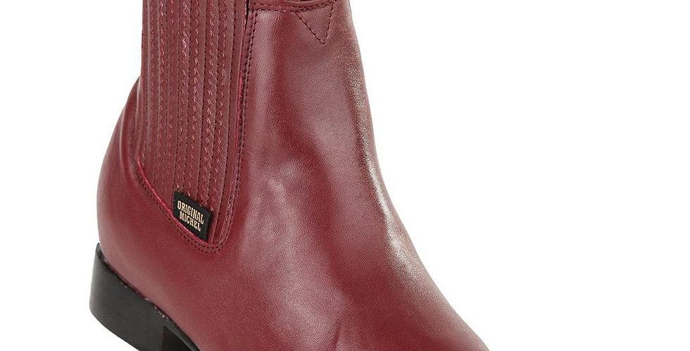 Original Michel Burgundy Charro Boots
