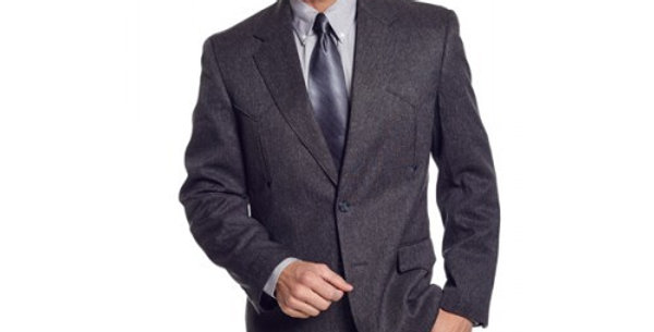 Circle S Men's Apparel - Heather Vegas Sportcoat - Charcoal