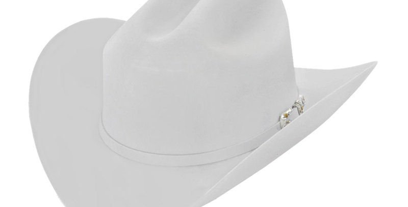 RRango Hats 10X Maximo - White Felt Hat