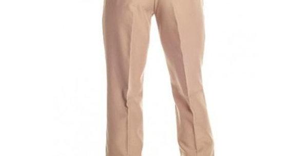 Circle S Men's Apparel - Solid Polyester Dress Ranch Pant - Khaki